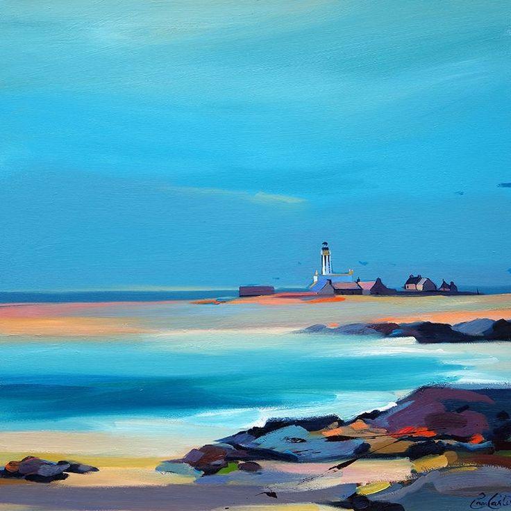 """Start Point Lighthouse, Orkney 28""""x28"""""""