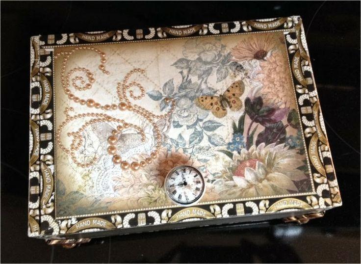 50 best altered cigar boxes images on pinterest altered for Cardboard cigar box crafts