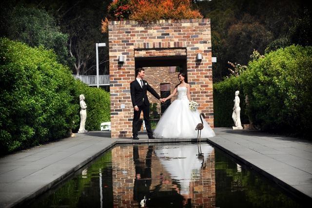 Real wedding at Eden Gardens, North Ryde