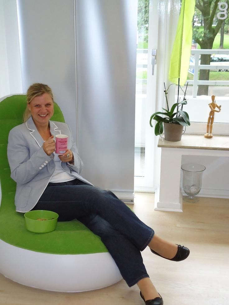 ...entspannen im Büro :-)