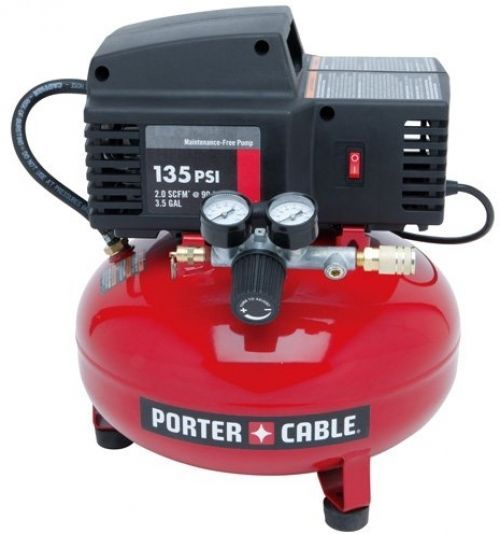 Air Compressor Oil Free Pump Long Runtime Portable Roofing Inflation Blowing #PORTER