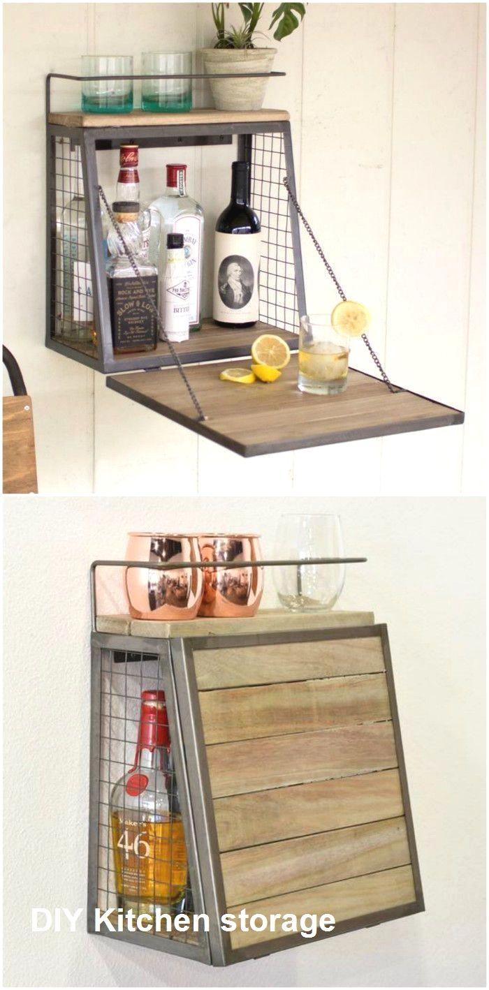 Kitchen Storage Ideas For Small Spaces In 2020 Small Space Kitchen Furniture For Small Spaces Tiny House Storage