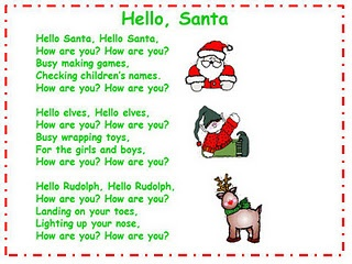 Hello Santa Song and Song Chart
