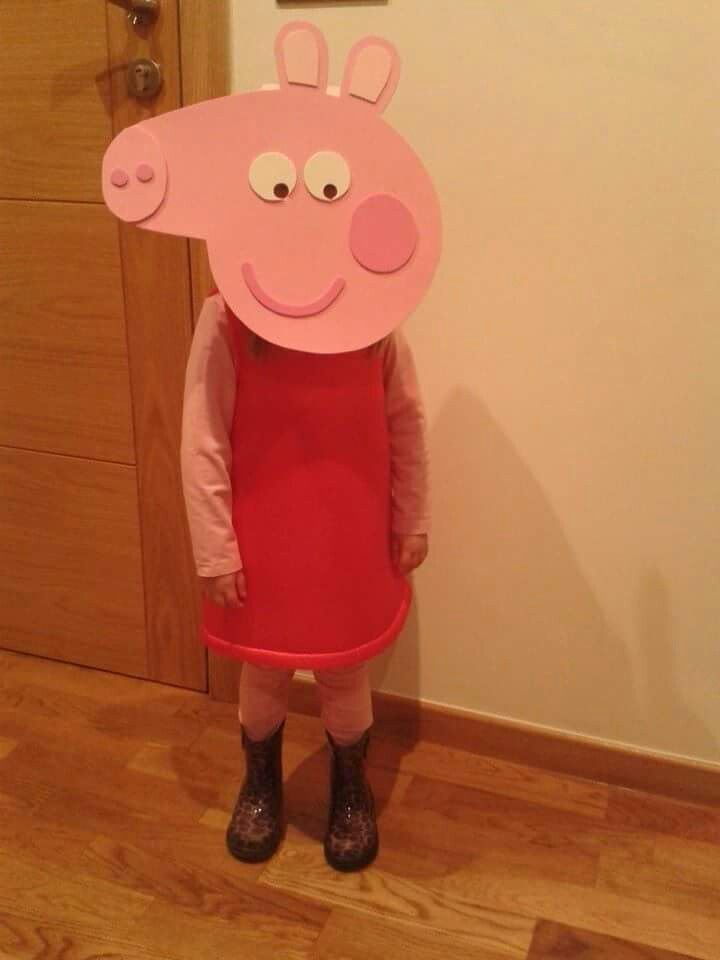 Peppa Pig Costume, Peppa Pig Halloween