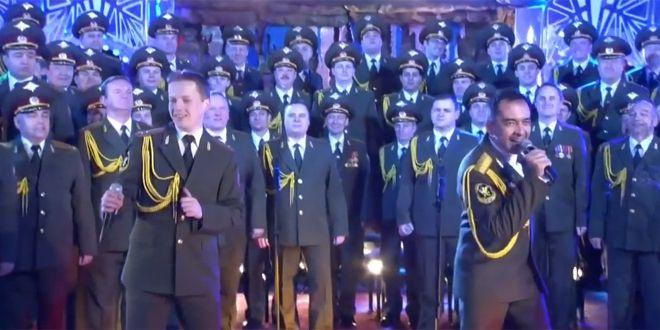 """""""Get Lucky"""" de Daft Punk repris par les choeurs de l'Armée rouge à Sotchi"""