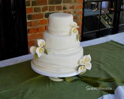 wedding cakes simple elegant 25 best ideas about calla cake on 25467