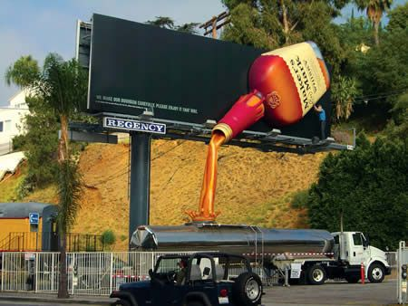 Clever billboards, cool billboard advertising. www.gemsoutdoor.com