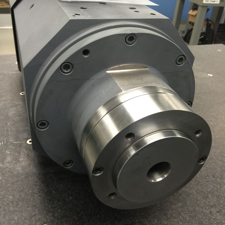 Ready to ship this Bryant grinding spindle.  #spindlerepair