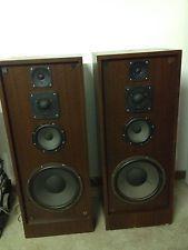 Big, Vintage 4 way speakers. Philips Drivers. Nytron Speakers. 100w+
