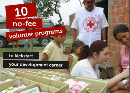 It's hard to land a job at an international #NGO without experience. Consider these 10 no-fee international #volunteer programs to give you an edge in your search.