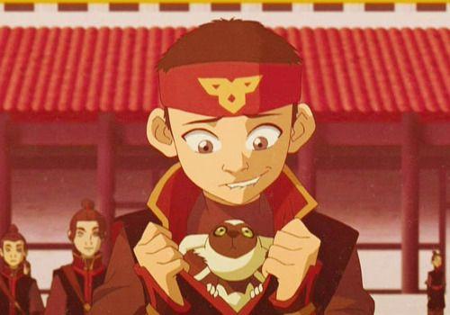 Avatar: The Last Airbender | Aang and Momo