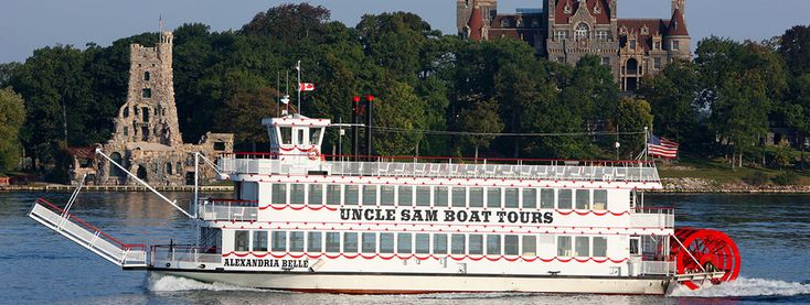 Cruise by the Thousand Islands with Uncle Sam