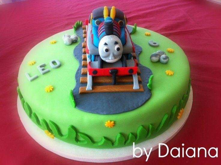 Cartoonito Cake Design : Oltre 25 fantastiche idee su Torte trenino thomas su ...