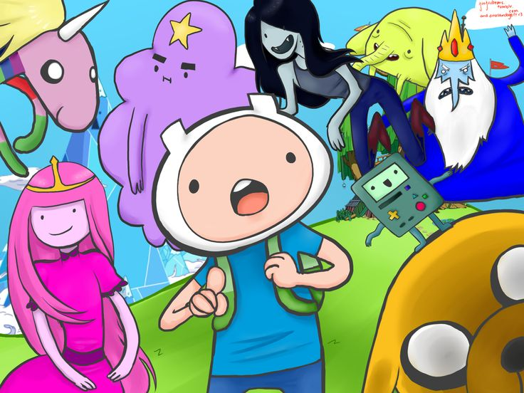 What time is it?................................ ADVENTURE TIME!