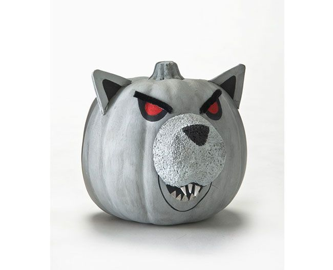 Werewolf Pumpkin With Folkart Acrylics Books Worth