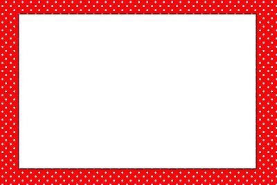 Fundo de Joaninha - Kit Completo com molduras para convites, rótulos para guloseimas, lembrancinhas e imagens! - Fazendo a Minha Festa