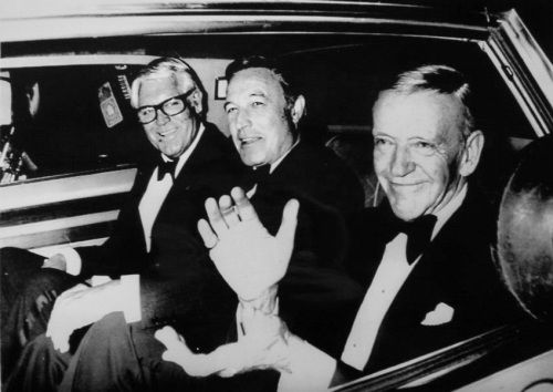 Cary Grant, Gene Kelly and Fred Astaire