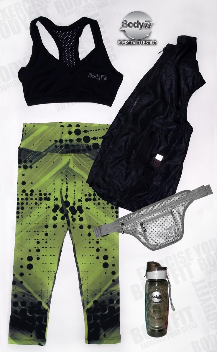 Set top, chaleco y caori BodyFit