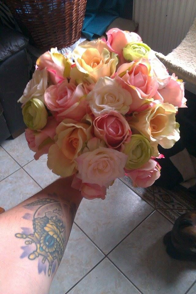 Silk Bouquet. www.facebook.com/pickmefloristry