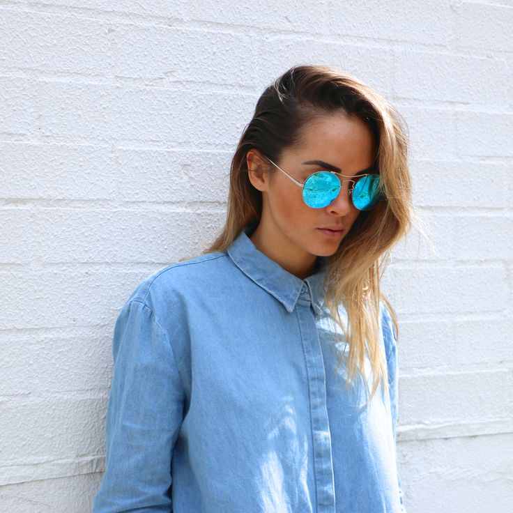 MALDIVES - ice blue @aisha_jade @shevoke  #sunglasses #sunnies #denim #shevoke #blue