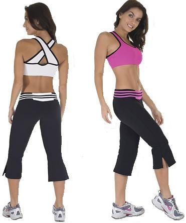Nina Bucci Dual Capri-100940 Women Workout Wear