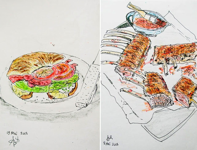 My Food Drawings | yummy with me
