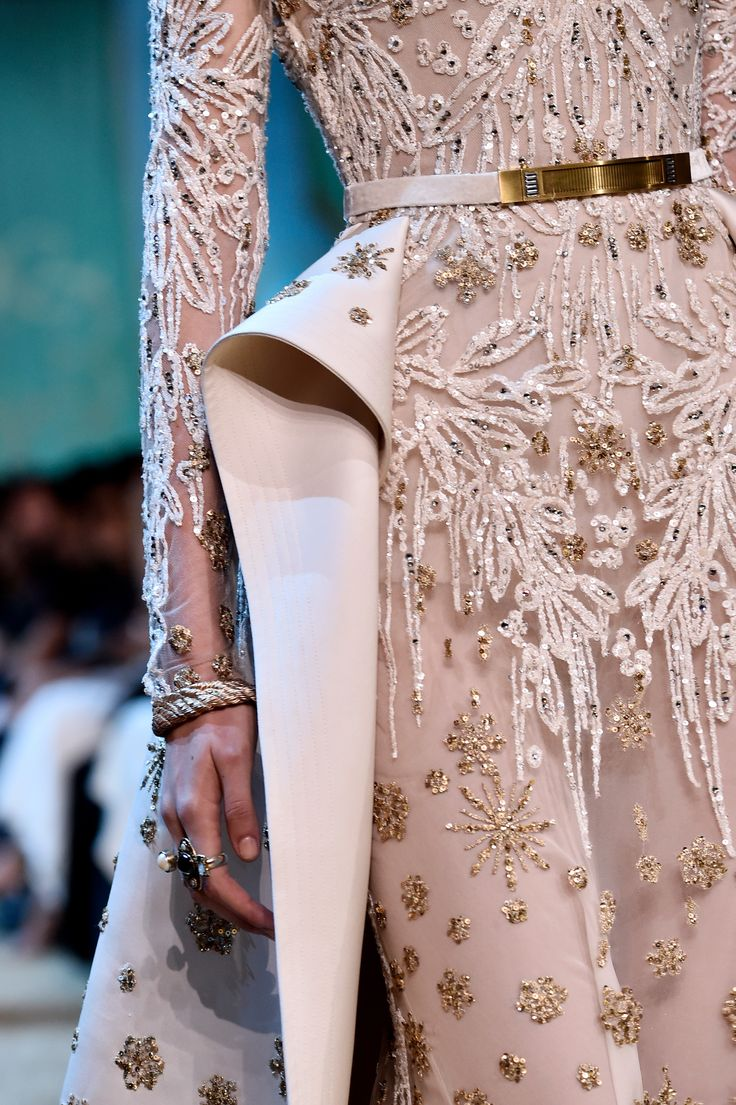 ELIE SAAB Haute Couture Autumn Winter 2017 - 18   Details