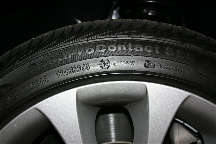 Continental Run Flat Tires for Bmw 3 Series