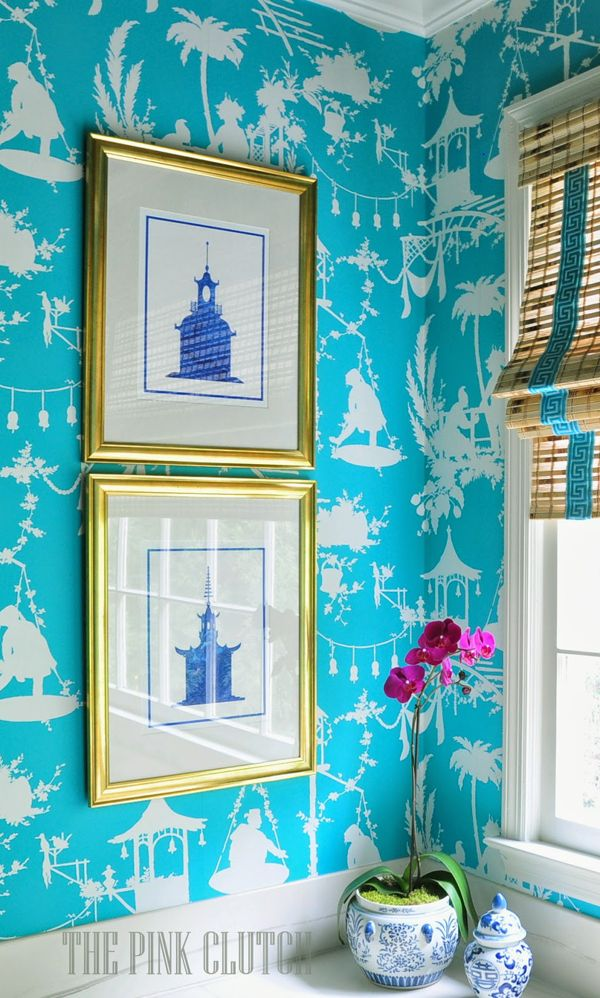 The Pink Pagoda: Blue and White Monday + Susie Bettenhousen Giveaway