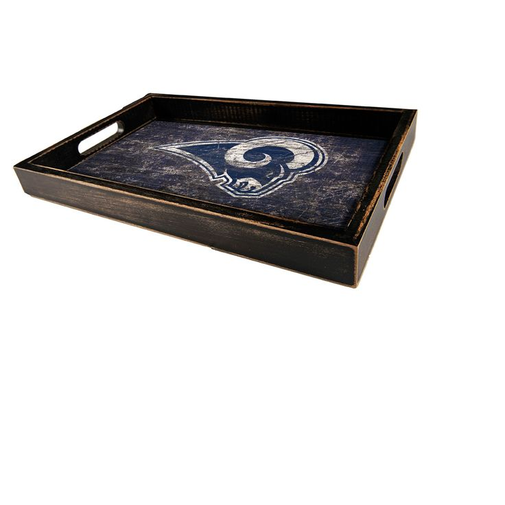 NFL Los Angeles Rams Fan Creations Distressed Team Name Tray
