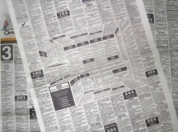 реклама кухни в газете креатив макет модуль