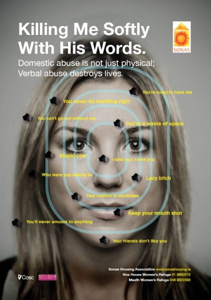 Verbal abuse is domestic abuse. It's time America got serious about protecting THESE women's rights.