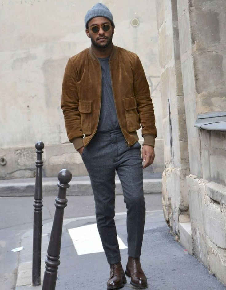 30 Men Outfit Ideas With Bomber Jacket – Bellestilo.com – Style & Ideas