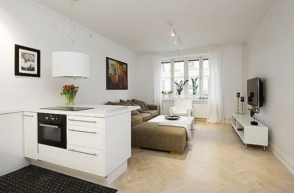 we should get some curtains!--image 010 30 Best Small Apartment Designs Ideas Ever Presented on Freshome