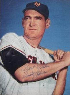 Dusty Rhodes (1927 - 2009)