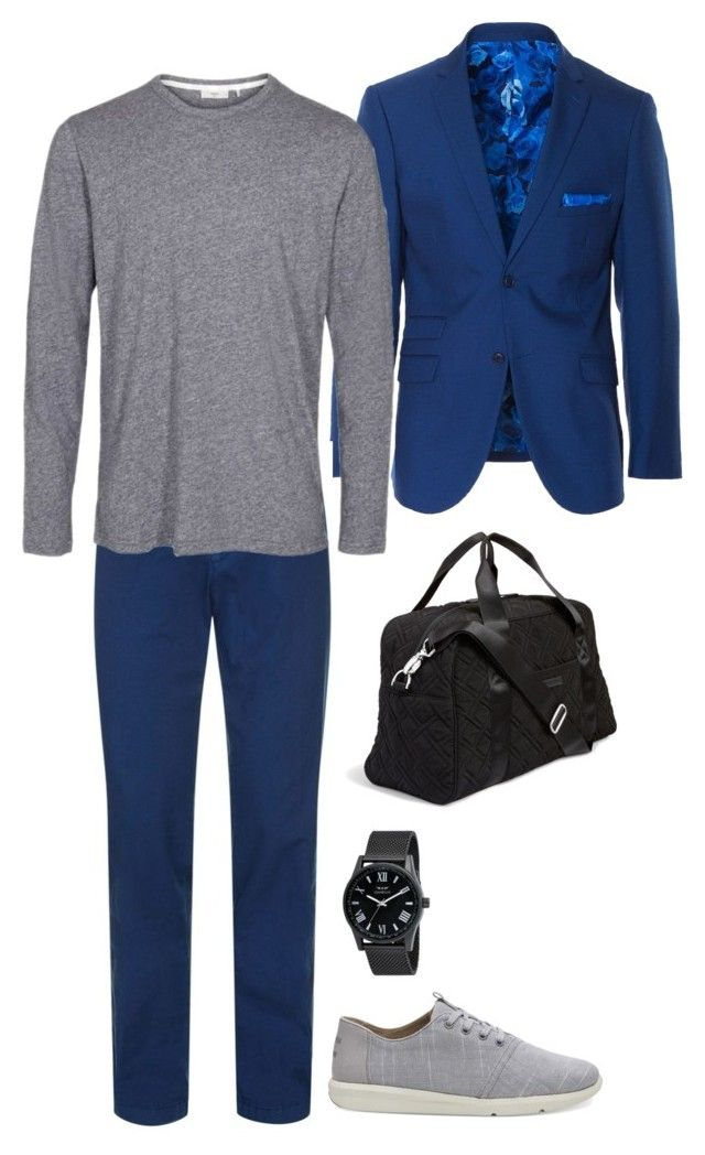 select3 by alexa1993 on Polyvore featuring HUGO, Paisley & Gray, TOMS, Vera Bradley, men's fashion and menswear