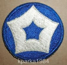 WW2 ERA US ARMY FIFTH SERVICE COMMAND INSIGNIA PATCH