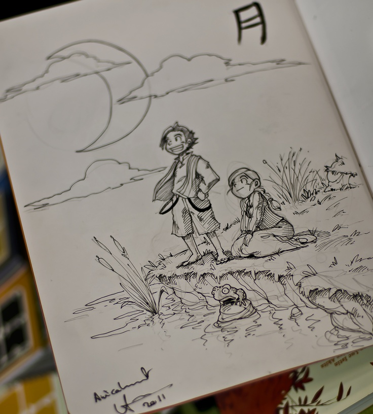 Akita disegna Le avventure Tom Sawyer