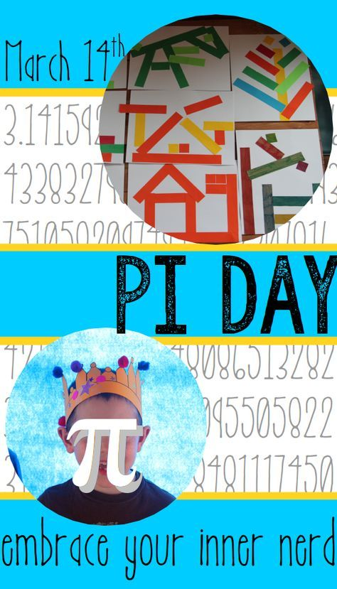 Pi Day activities for kids - circle math, pi day art activities, logic puzzles, crafts, fun facts, and more. | Meredith Anderson