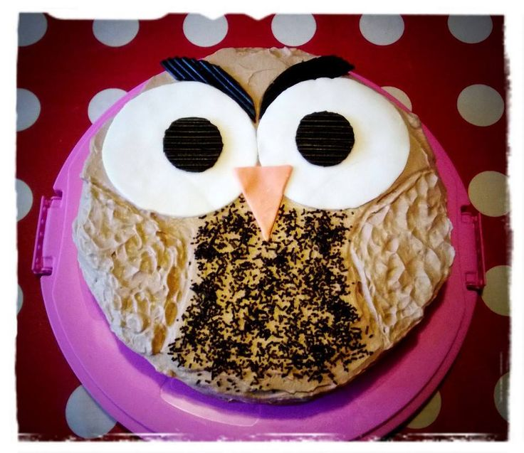Owl cake for my son