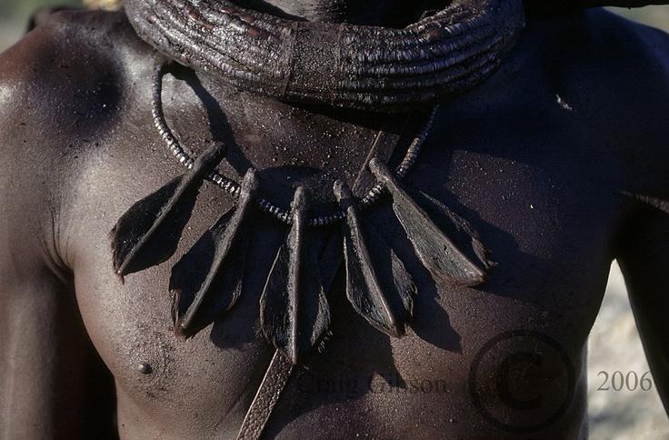Himba necklace - Kaokoland