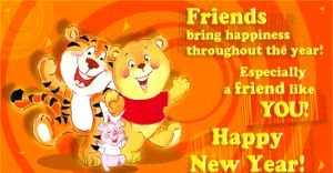 New year wishes for best friends