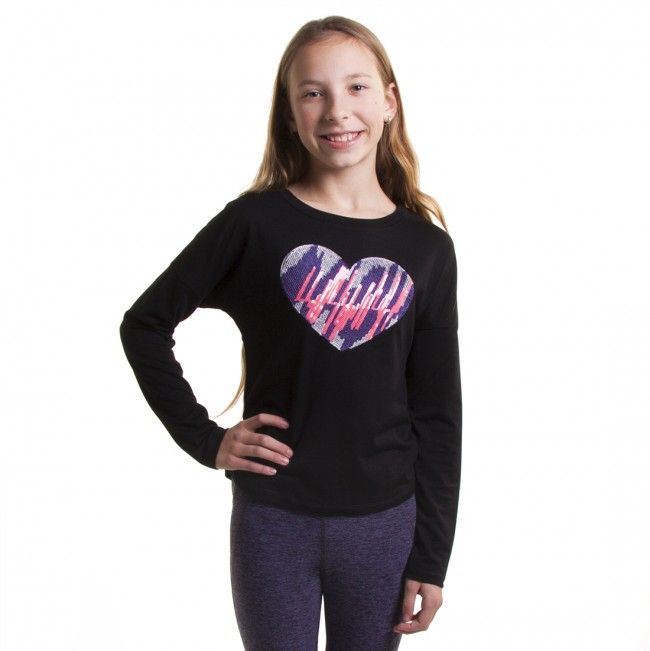 Add a little sparkle to her holiday with the sequined Kizzy Top. ($39.90)