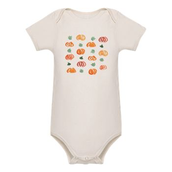 Organic Baby Pumpkin Body Suit