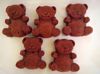 Red Velvet medvídci   Love Life Food