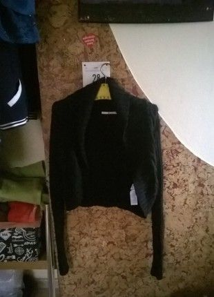 Kup mój przedmiot na #vintedpl http://www.vinted.pl/damska-odziez/kardigany/13195406-czarny-krotki-kardigan-tommy-hilfiger