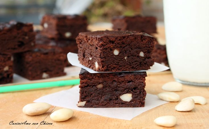 Brownie al cioccolato fondente |CuciniAmo con Chicca