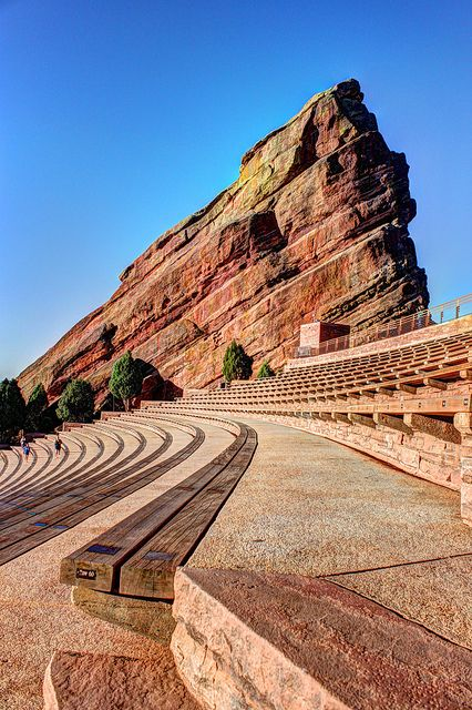 Ship Rock at Red Rocks Amphitheater, Colorado