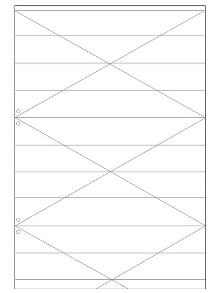Mit Anleitung: Geometrische Lampe aus Papier