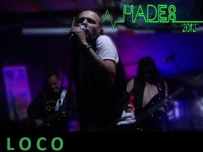 http://soundcloud.com/hadescolombia/loco LOCO PRIMER SINGLE DEL ALBUM EP DE LA BANDA DE ROCK COLOMBIANA HADES 2012.PRODUCIDO Y MEZCLADO EN LOS ESTUDIOS HIGH END EN BOGOTA COLOMBIA, ACARGO DEL INGENIERO GUSTAVO RUEDA. HADES 2012 BAND SON RICARDO FLORIAN EN LAS VOCES,HUGO ALVAREZ GUITARRAS,ARTURO RODRIGUEZ EN EL BAJO Y JULIAN DIAZ EN LA BATERIA. HADES 2012 hadesmusic@yahoo.es reverbnation.com/hadesmusic youtube.com/hadesmusic1